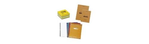 Cahiers et blocs notes